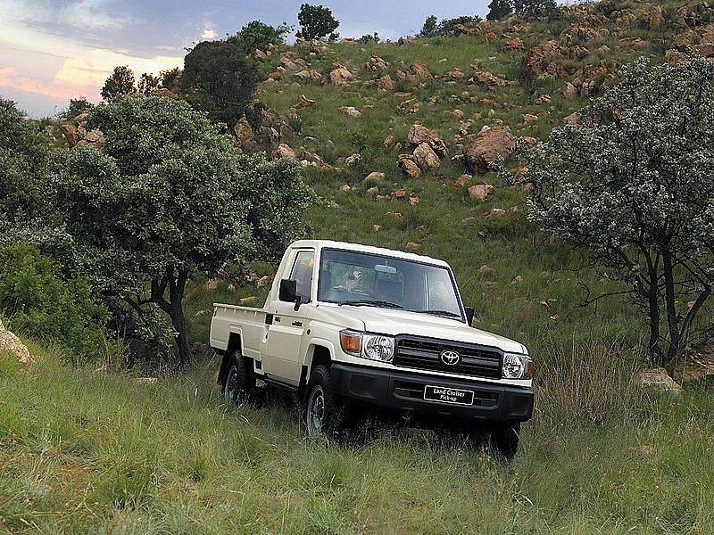 Toyota Land Cruiser 79 Single Cab