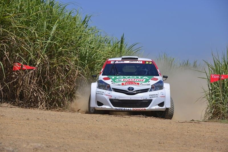 Hilton Head Toyota >> TOYOTA Debuts YARIS & WINS Manufacturers' Prize On Total Rally